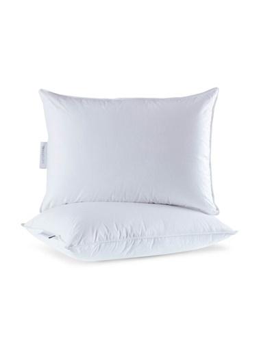 Penelope Diamond Kaz Tüyü Yastık 50x70 Beyaz
